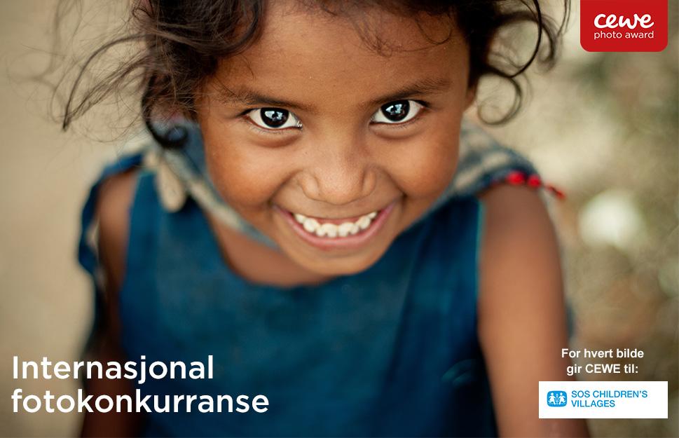 CEWE Photo Award støtter SOS Barnebyer