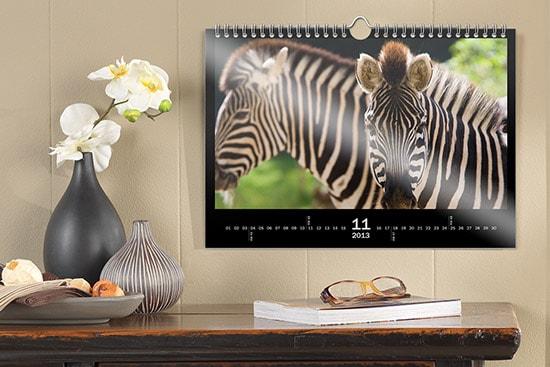 Priser på fotokalender