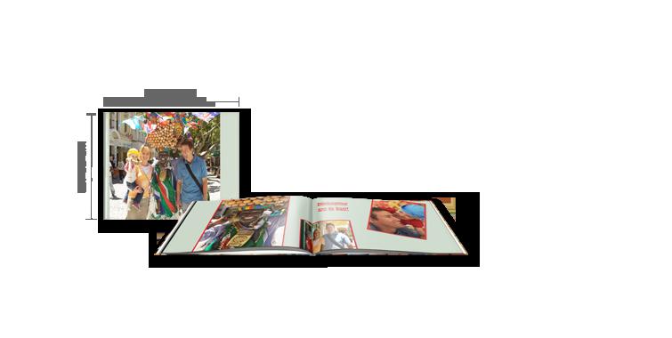 CEWE FOTOBOK Kompakt Panorama: Digitaltrykk