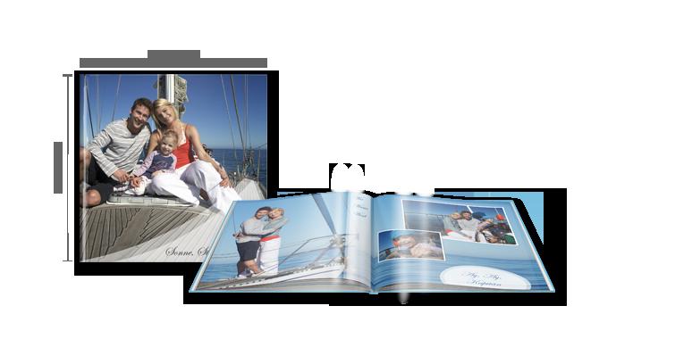 CEWE FOTOBOK XL: Med høyglans overflate