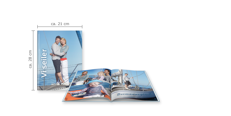 CEWE FOTOBOG Stor: Hardcover-indbinding