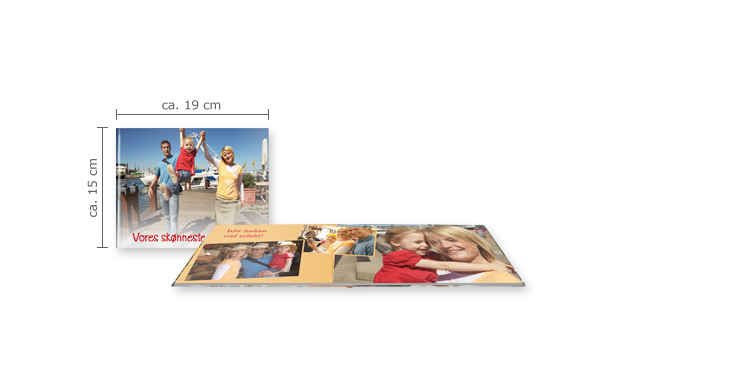 CEWE FOTOBOK Kompakt Panorama: Matt fotopapir