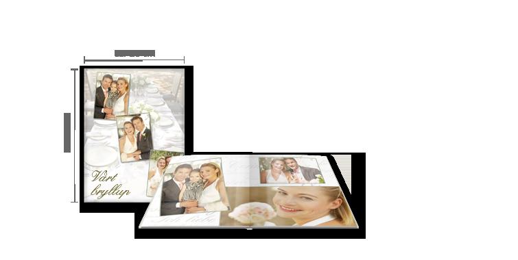 CEWE FOTOBOK Stor: Blankt fotopapir