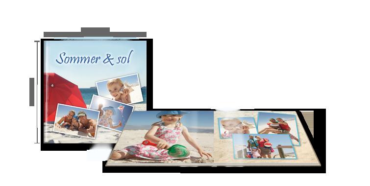 CEWE FOTOBOK XL: På blankt fotopapir