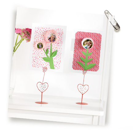 Mal til lag-selv-blomster