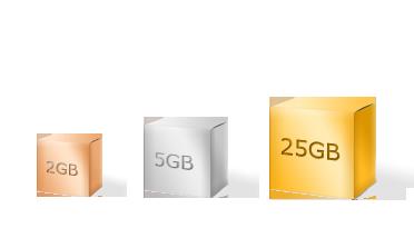 Online lagringsplass
