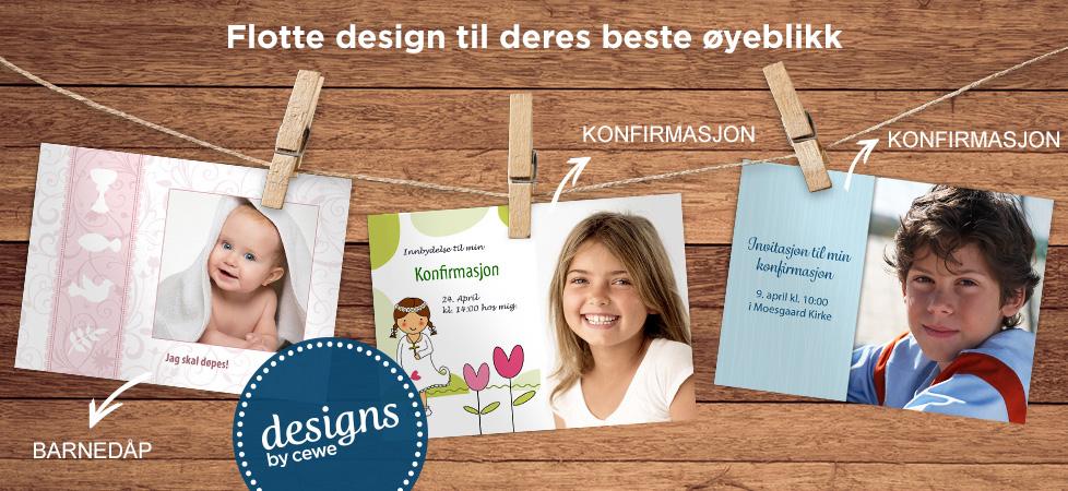 CEWE designs
