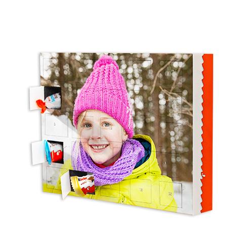 Sjokoladejulekalender med Kinder ® sjokolade