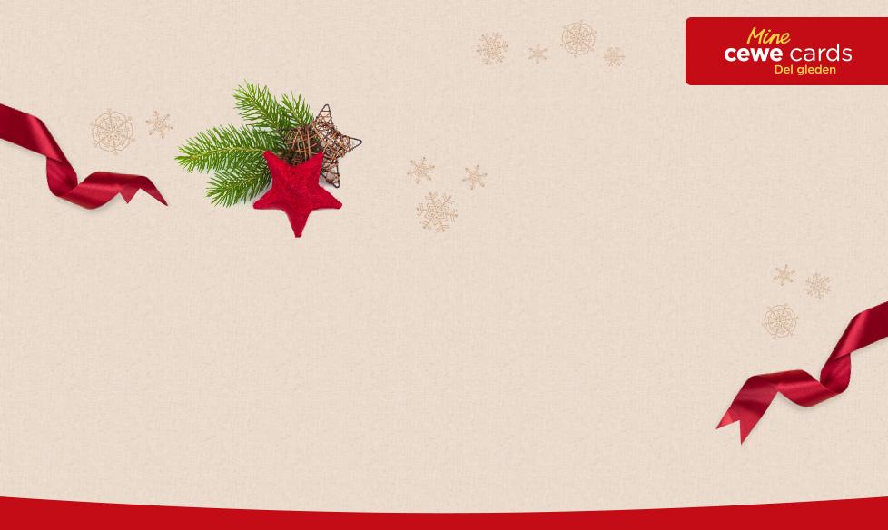 Julekort, takkekort og mer