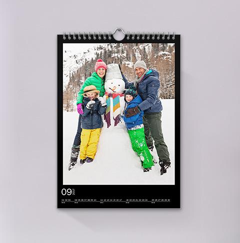 Veggkalender A4