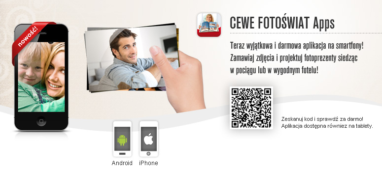 CEWE Fotoświat apps
