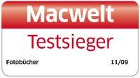 Logo MacWelt - Fotobuch Testsieger