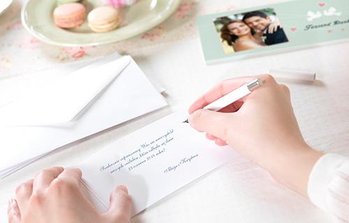 Ozdabiaj, przerabiaj i kreuj zaproszenia ślubne