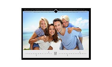 Kalendarz ścienny A4 matowy