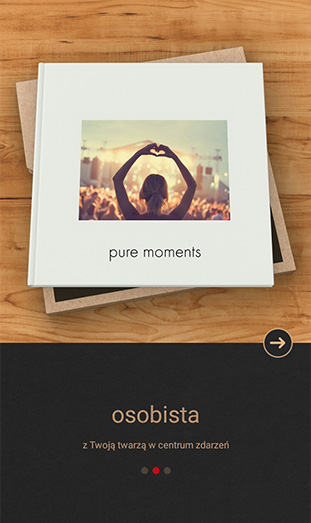 CEWE FOTOKSIĄŻKA Pure App - osobista