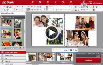 Wybór zdjęć i wskaźnik jakości CEWE Fotoksiążka
