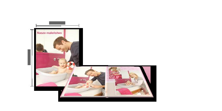 CEWE FOTOKSIĄŻKA Duża: Matowy papier foto