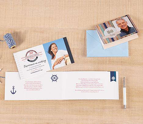 Zaprojektuj fotokartki z zaproszeniami i podziękowaniami z szablonami