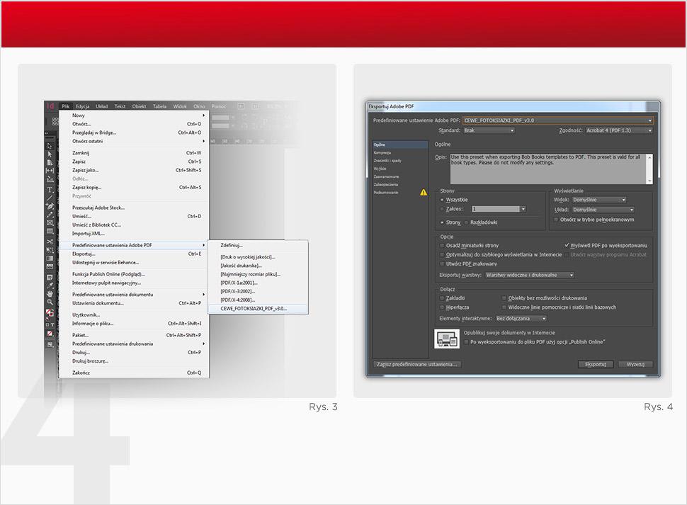 Tworzenie plików PDF dla optymalnych efektów w druku