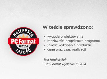 CEWE FOTOKSIĄŻKA – najlepsza fotoksiążka w Polsce według test PC Format 6/2014
