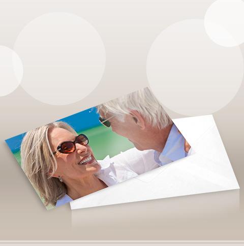 Foto Cartão Panorâmico 10 x 21 cm