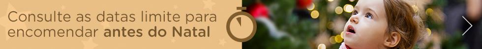 Consulte as datas limite para encomendar antes do Natal