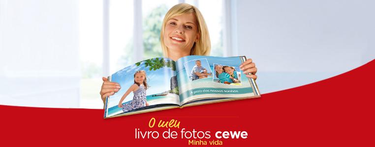 LIVRO DE FOTOS CEWE