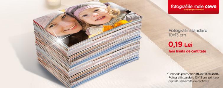 Fotografii standard 10x13 cm la 0,19 Lei - Cewe.ro