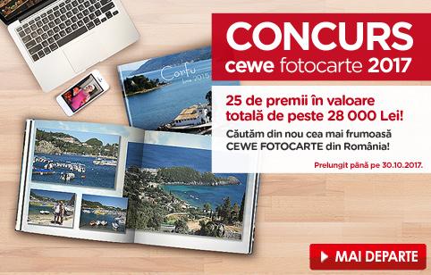 Concurs CEWE FOTOCARTE 2017