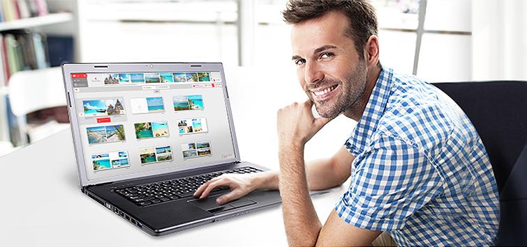 Editor online CEWE FOTOCARTE