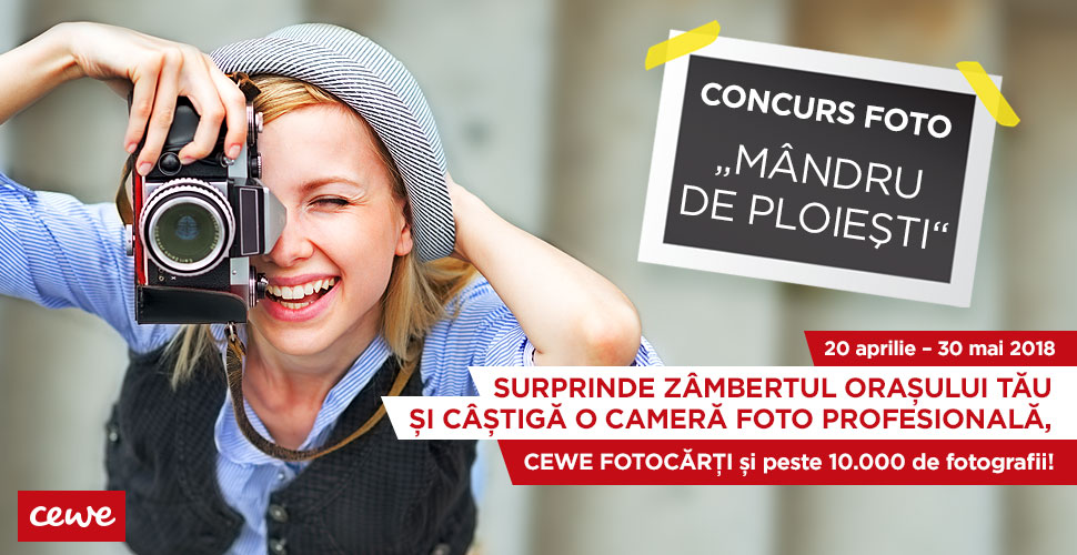 """Concurs foto """"Mândru de Ploiești"""""""