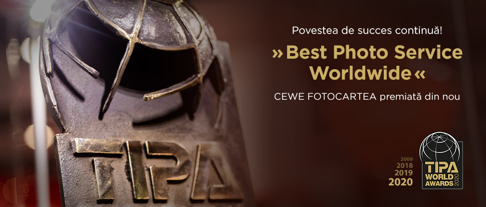 CEWE este din nou câștigătoarea categoriei Best Photo Service Worldwide