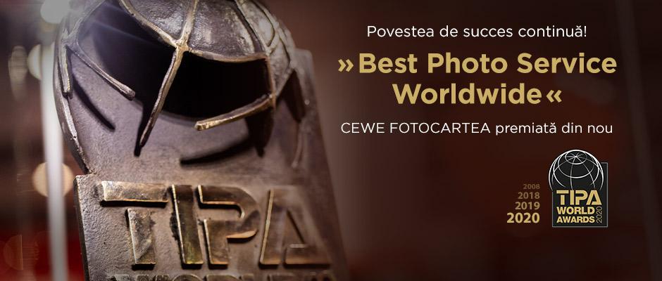 CEWE FOTOCARTEA premiată din nou – TIPA 2020