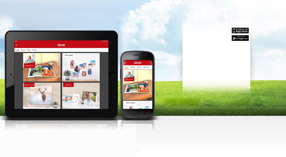 CEWE aplicație mobilă