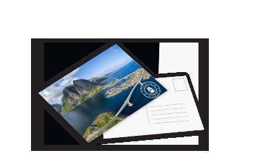 Cărți poştale personalizare, comandă - Cewe.ro