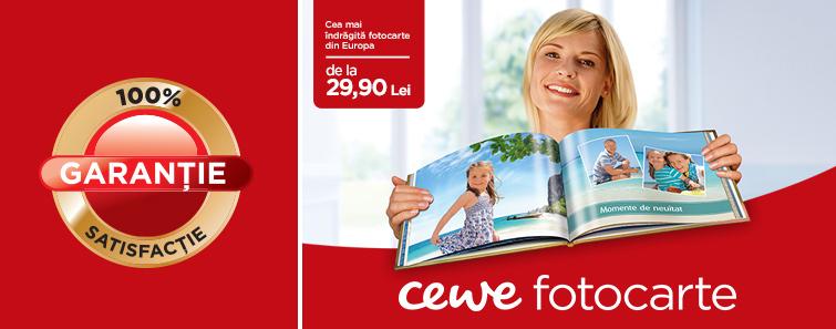 CEWE FOTOCARTE garantie de satisfactie - Cewe.ro