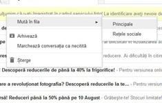 Gmail - email áthelyezés