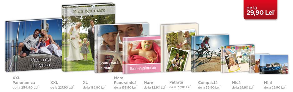 Editare fotocarte acasă cu ajutorul programului CEWE FOTOLUMEA - Modele fotocărți