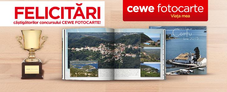 Concurs CEWE FOTOCARTE Castigatori- Cewe.ro
