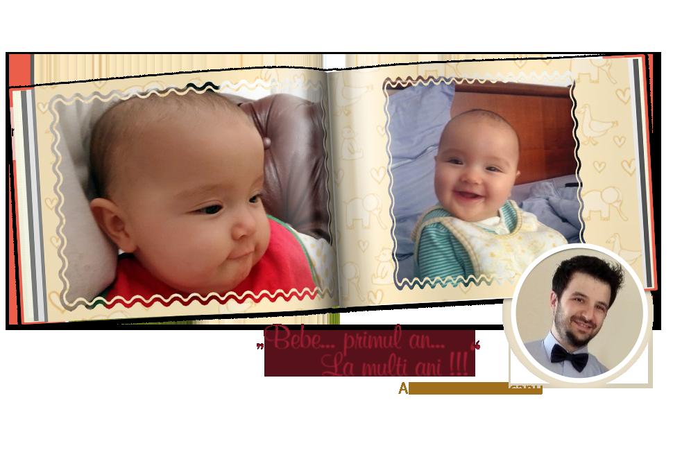 Bebe... primul an...La multi ani!!!