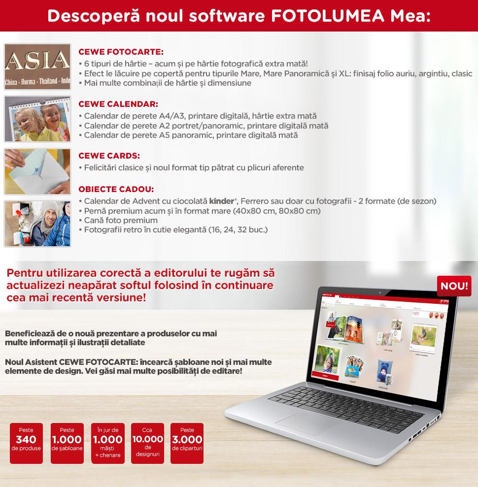 Descoperă noul software FOTOLUMEA Mea