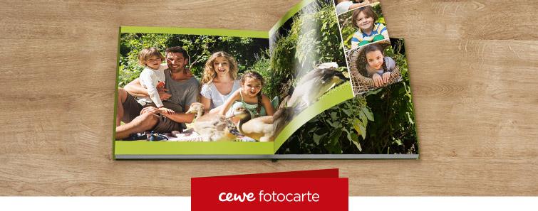 Comandă online CEWE FOTOCARTE XL pe hârtie fotografică lucioasă– Cewe.ro