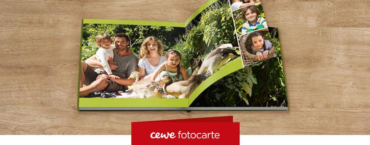 Comandă online CEWE FOTOCARTE XL pe hârtie fotografică mată - Cewe.ro