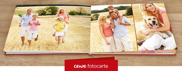 Comandă online CEWE FOTOCARTE XXL pe hârtie fotografică mată -Cewe.ro