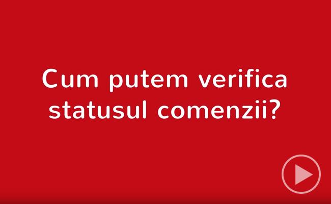 Urmărire online status comandă