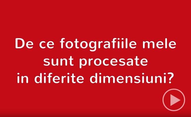 Developare fotografii - poze de dimensiuni diferite