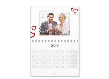 Calendar de perete A2 tip agendă
