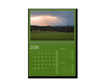 Personalizare Agendă calendaristică de perete A3