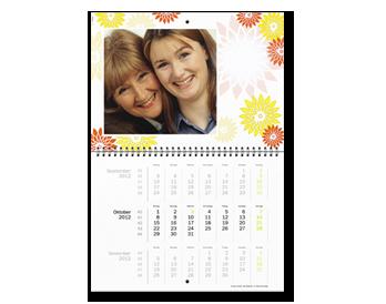 Personalizare Agendă Calendaristică A2 triptic