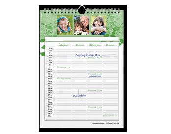Creare Calendar de familie A4 tip agendă
